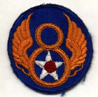 Mighty 8th badge