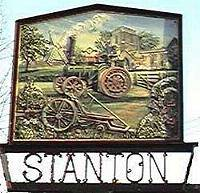 Stanton village sign