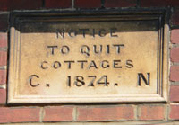 Notice to Quit Cottages in Victoria Street, Bury St Edmunds